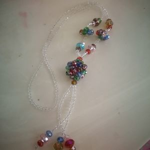 Jewelry - Colorful crystal necklace
